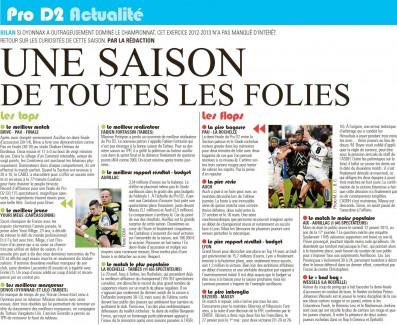 Midi olympique - le meilleur jeune Youri Mege (Carcassonne)