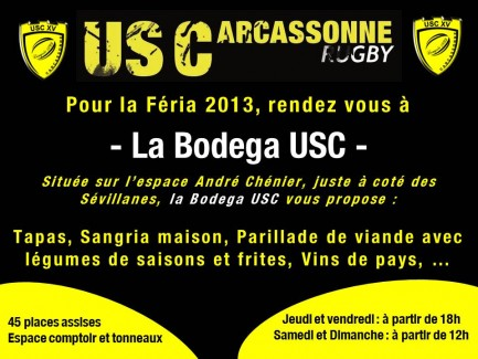 Affiche Bodega USC 2013