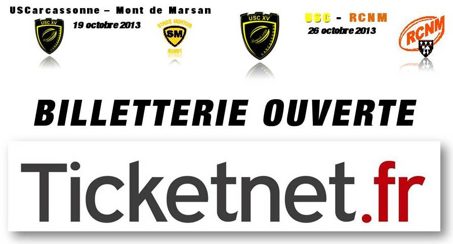 billetterie ouverte tickenet