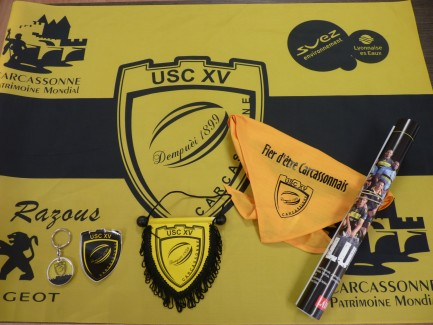 pack accessoires supporters USC 2013