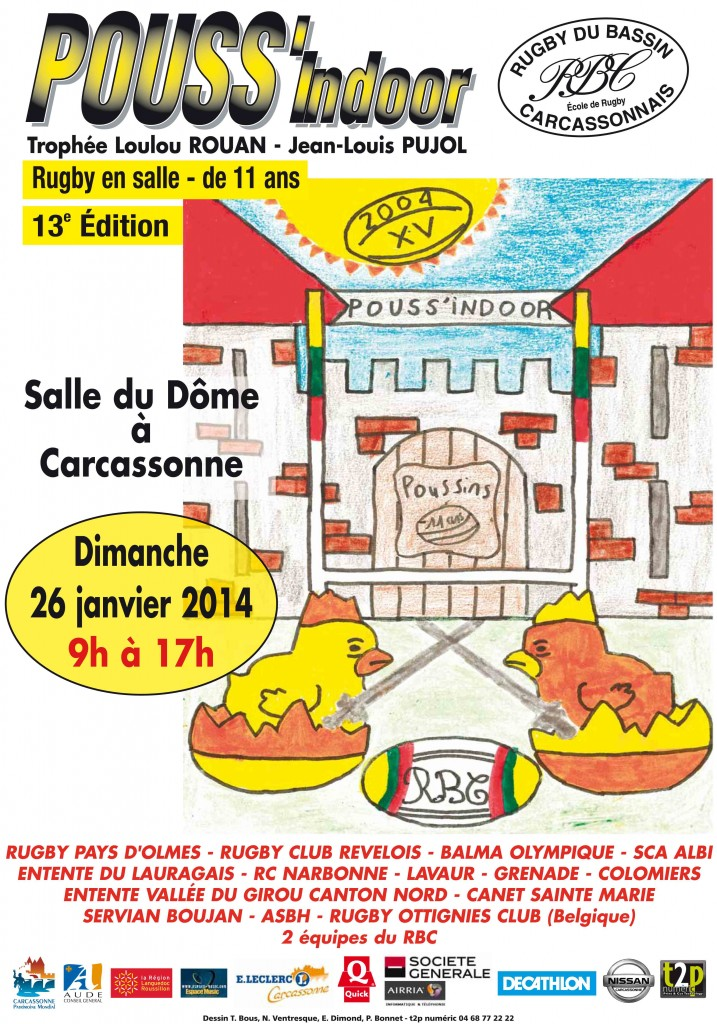 Affiche Pouss Indoor 2014