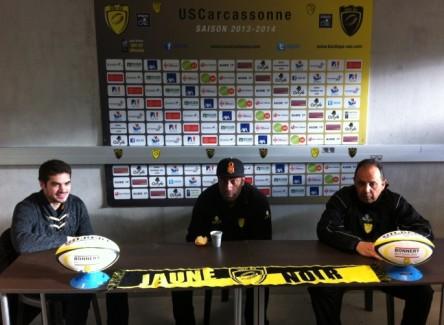 conference de presse USC avant deplacement Aurillac