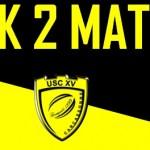 Pack 2 Matchs SUA-PAU
