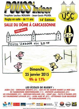 Affiche Pouss'Indoor