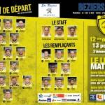 La Compo de l'USC face à Béziers