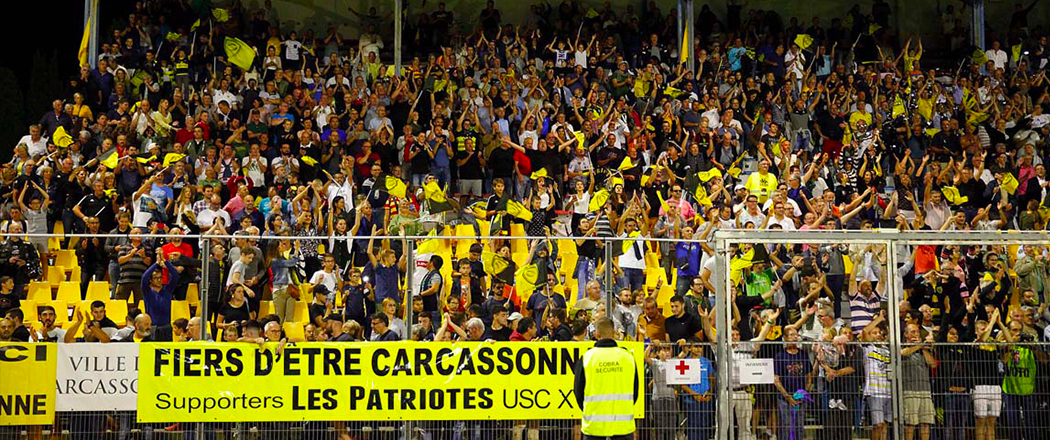Stade-supporters