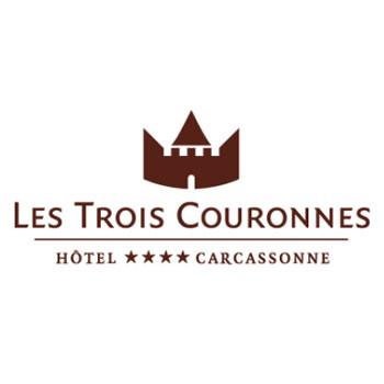 logo hotel des trois couronnes wordpress