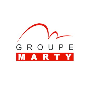 logo wordpress groupe marty