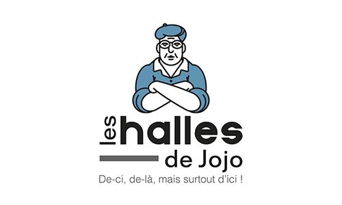 Logo Halles de jojo