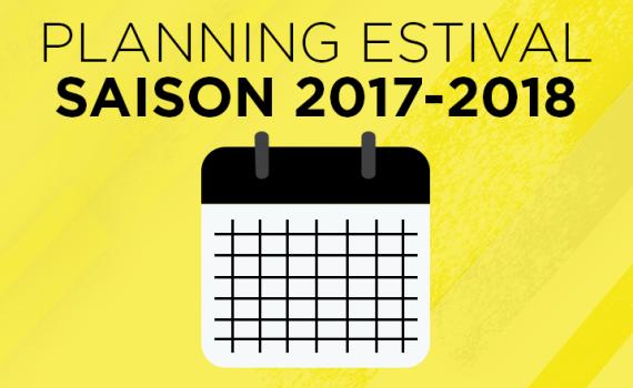 annonce planning estival 17-18