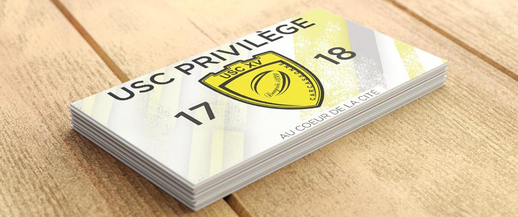 Lancement Carte USC privilège