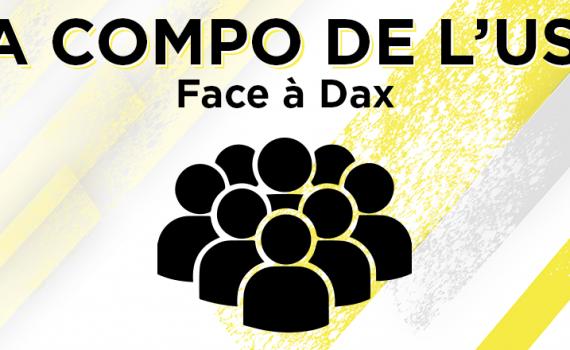 Compo face à Dax