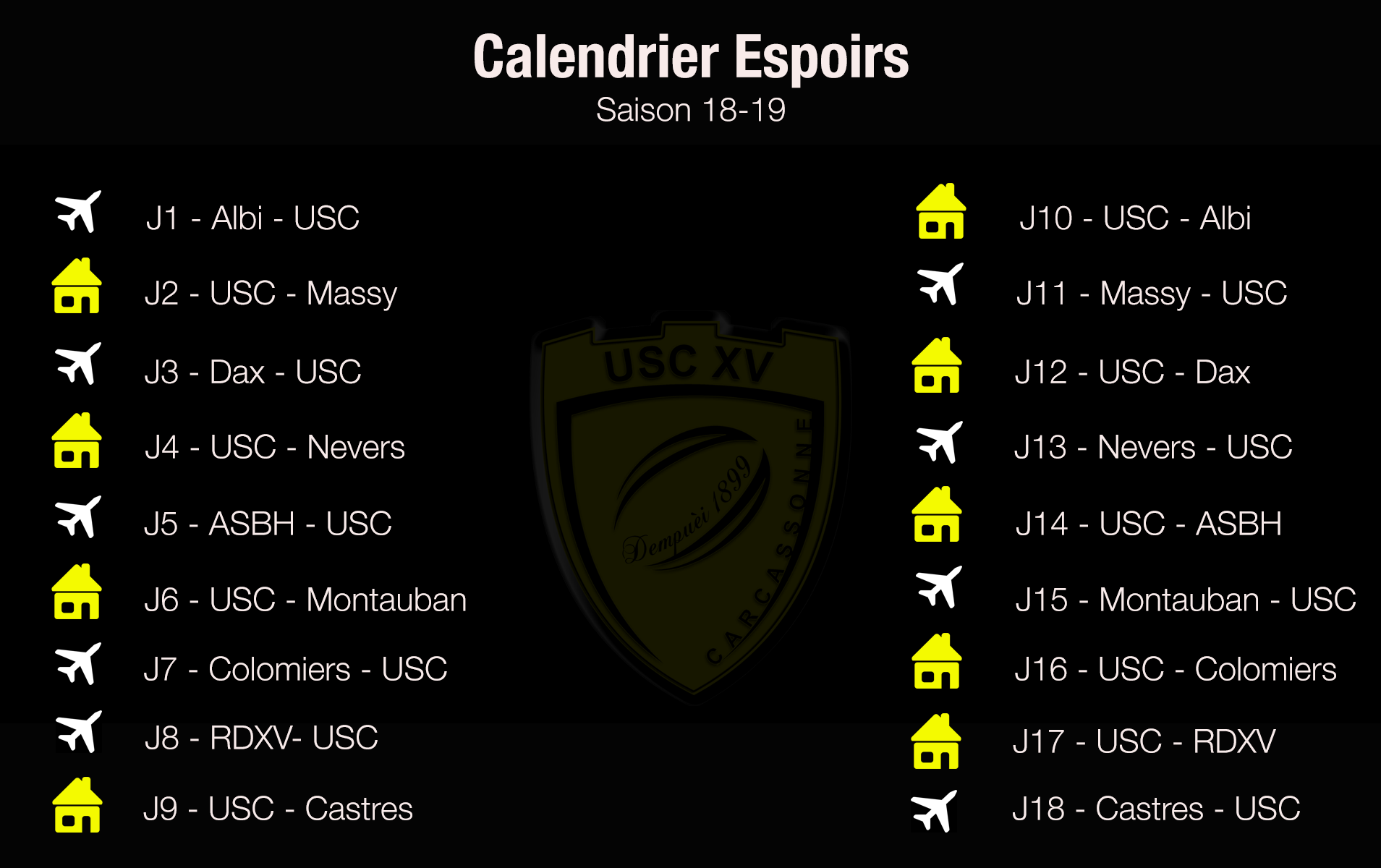CalendrierEspoirs18-19