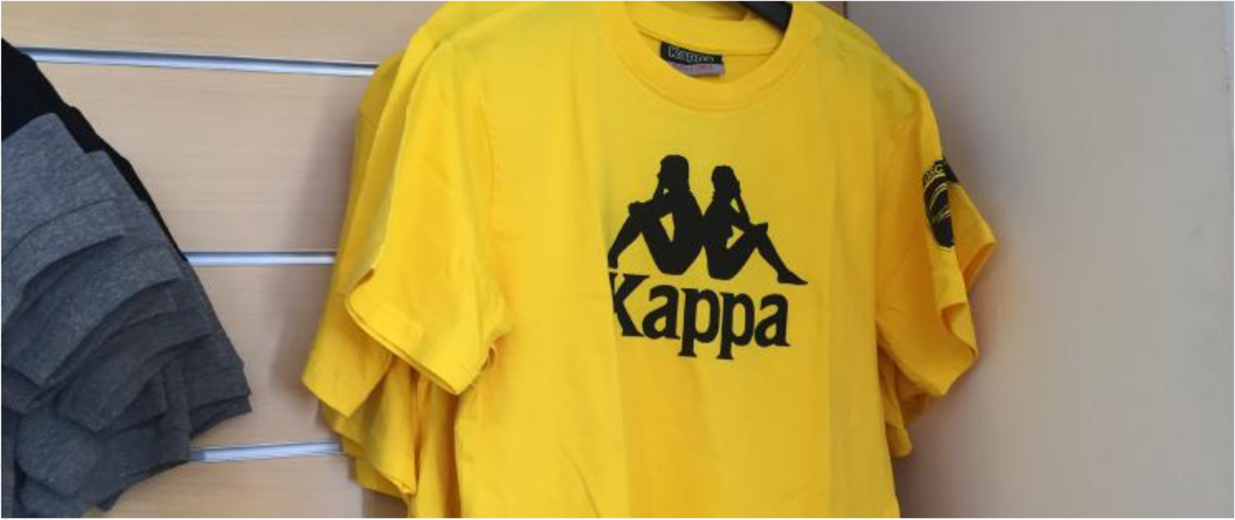 Tee-shirt supporters