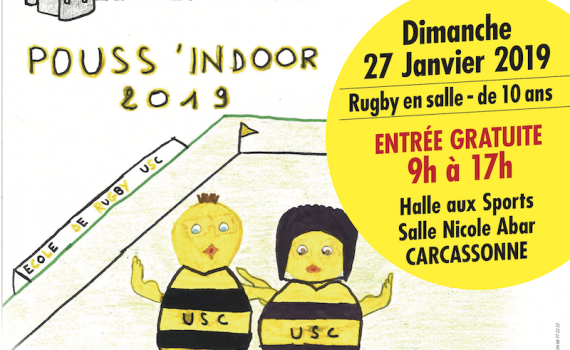 AFFICHE POUSS'INDOOR 2019