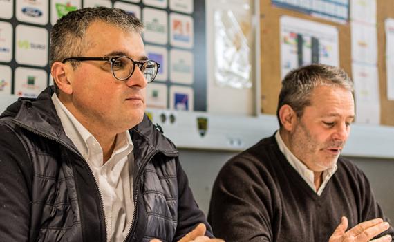 Benoit Mestre et Frédéric Calamel