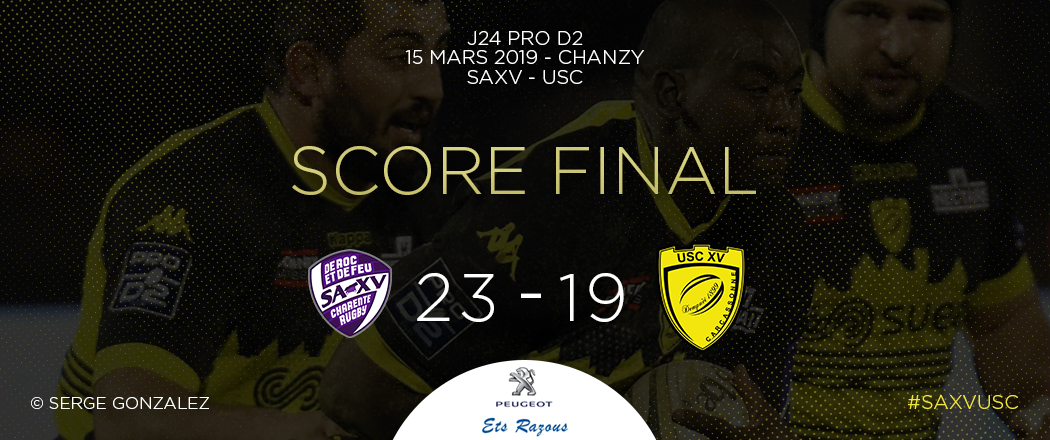 Score final SAXV - USC