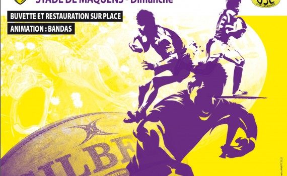 USC Ecole Rugby - Affiche A3 Challenge Remparts 2019 v2