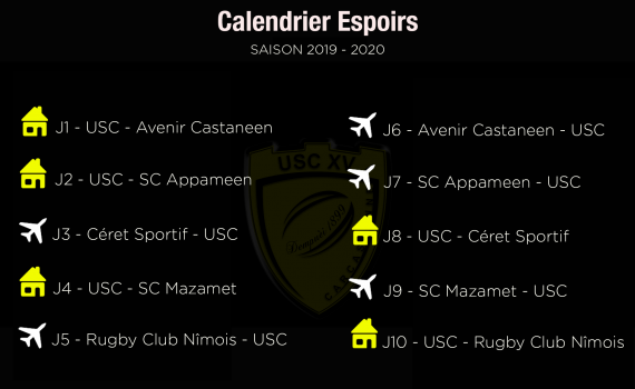 CalendrierEspoirs19-20