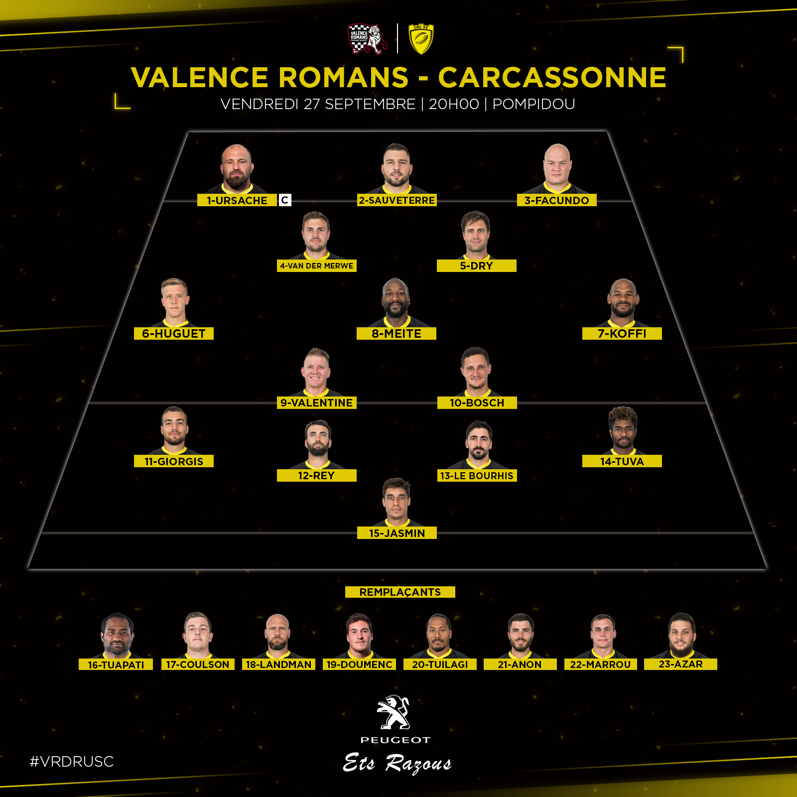 Compo Valence Romans J5