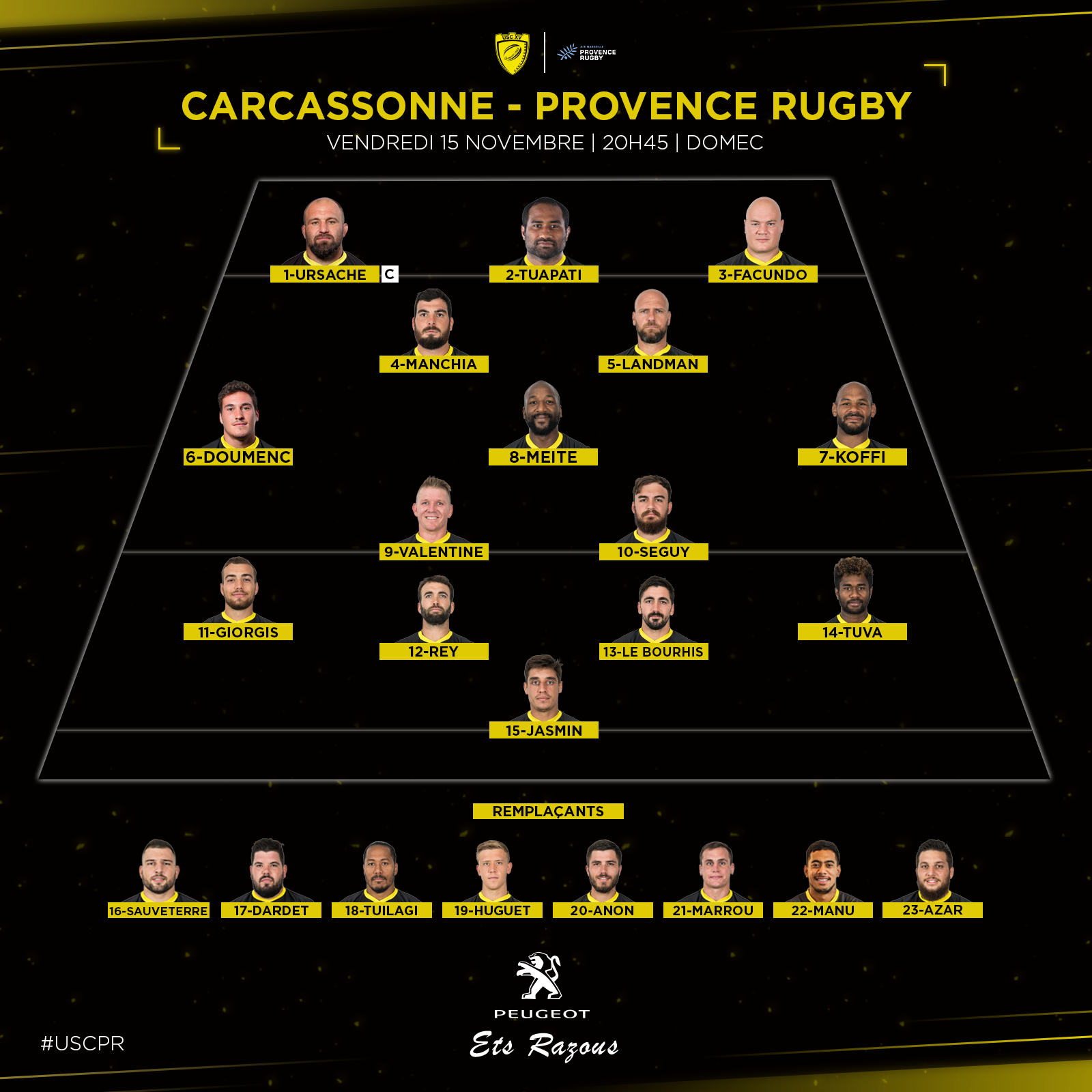 Compo Provence Rugby