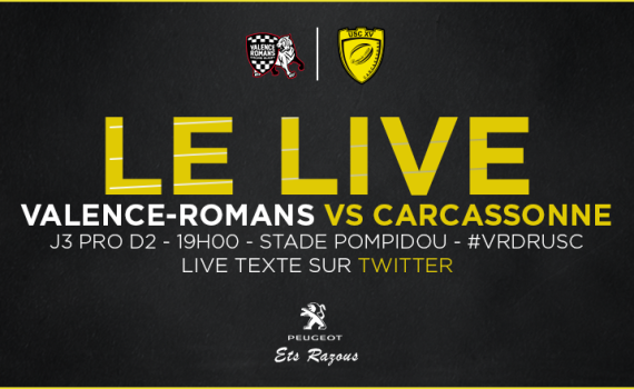 Annonce match Valence romans