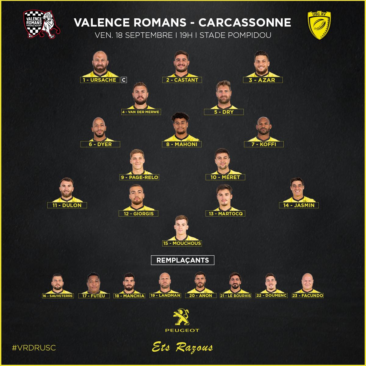 Composition Valence Romans - USC