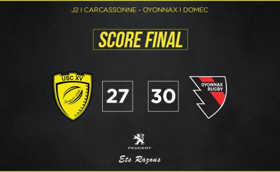 Score final oyonnax